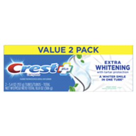 Crest + Extra Whitening Complete Toothpaste, Clean