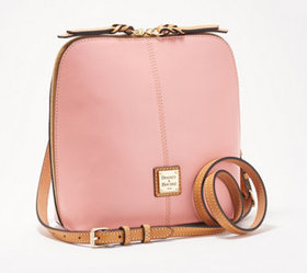 """""""As Is"""" Dooney & Bourke Smooth Leather Large Trixi"""