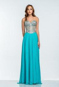 Terani Couture - 151P0036A Sequin Embellished Swee