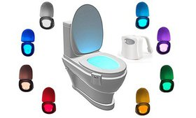 LED Toilet Light Sensor Activated