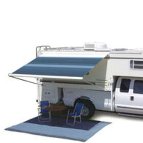 Carefree Campout Bagstyle Awning, Sierra Brown, 9'
