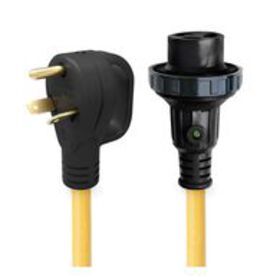 25' 30 Amp Detachable Power Cord with Handle & Ind
