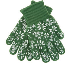 """As Is"" Temp-tations Oven Safe Gloves with Silicon"