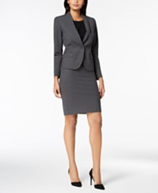 Anne Klein Executive Collection 3-Pc. Pants & Skir