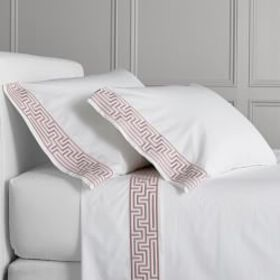 Chambers® Regent Embroidered Sheet Set