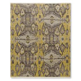 Andijan Ikat Hand Knotted Rug