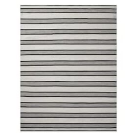 Perennials® Awning Stripe Indoor/Outdoor Rug, Blac
