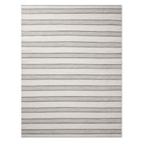 Perennials® Awning Stripe Indoor/Outdoor Rug, Grey