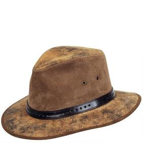 Wilsons Leather Accent Band Leather Safari Hat