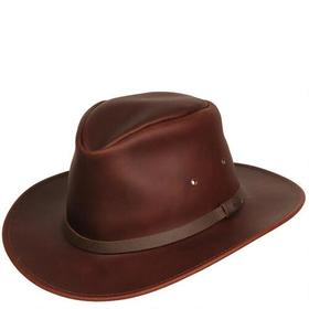 Wilsons Leather Banded Leather Cowboy Hat