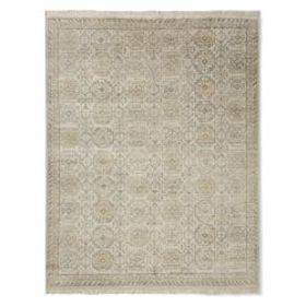 Khottan Hand Knotted Rug, Drizzle