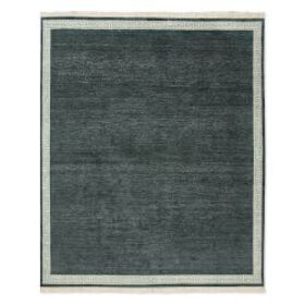 Greek Key Border Hand Knotted Rug, Tapestry