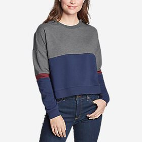 Women's Colorblocked Sweatshirt