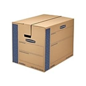 24 x 18 x 18 Moving Boxes, ECT 32, Blue/Kraft, 6/B