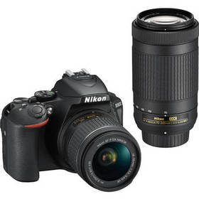Nikon D5600 DSLR Camera with 18-55mm and 70-300mm