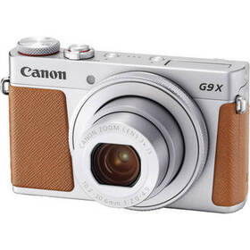 Canon PowerShot G9 X Mark II Digital Camera (Silve