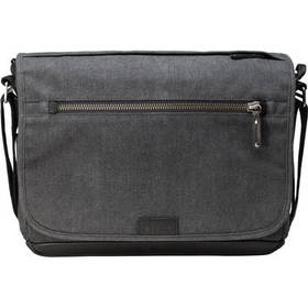 Tenba Cooper 13 Slim Messenger Bag with Leather Ac