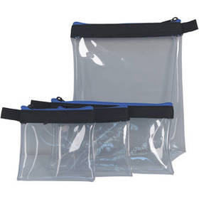 ORCA Transparent Pouch Set for Accessories (4-Pack