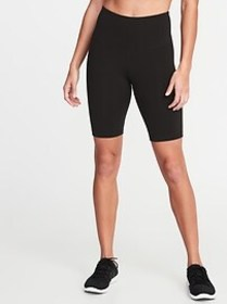 High-Waisted Elevate Compression Biker Shorts for