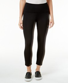 Style & Co Cropped Tummy-Control Leggings, Created
