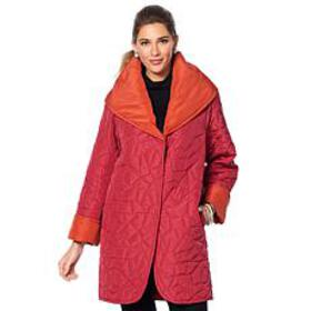MarlaWynneReversible Lightweight Quilted Coat