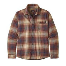 M's Long-Sleeved Lightweight Fjord Flannel Shirt,