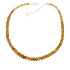 Jay King Sterling Silver Yellow Apatite Graduated