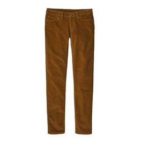 W's Fitted Corduroy Pants, Fatigue Green (FTGN)