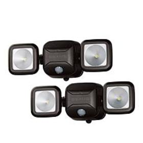Mr. Beams 600 Lumens Motion Activated 2-pack Flood