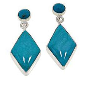 Jay King Sterling Silver Cloudy Mountain Turquoise