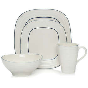 Mikasa® Swirl Square Banded Dinnerware Collection