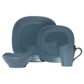 Mikasa® Swirl Square 4-Piece Place Setting in Blue