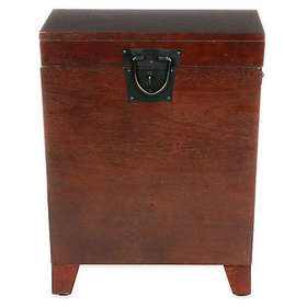 Southern Enterprises Pyramid Trunk End Table