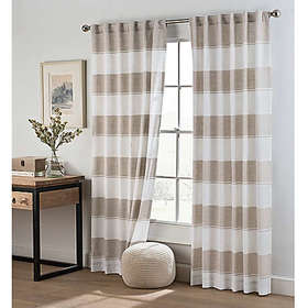 Cambree Stripe Rod Pocket Window Curtain Panel