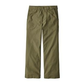 W's Stand Up® Cropped Pants, Fatigue Green (FTGN)