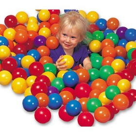 100-Pack Intex Large Plastic Multi-Colored Fun Bal