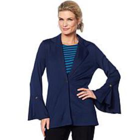 Antthony 2-piece Flounce-Sleeve Jacket and Tank Se