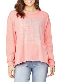 C&C California Burnout Pullover WATERMELON