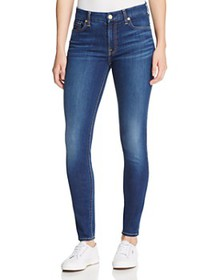 7 For All Mankind - b(air) Skinny Ankle Jeans in D