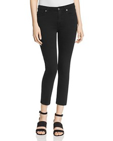 7 For All Mankind - b(air) Kimmie Crop Jeans in Bl