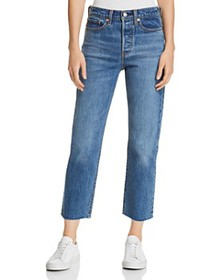 Levi's - Wedgie Crop Straight Jeans in Love Triang