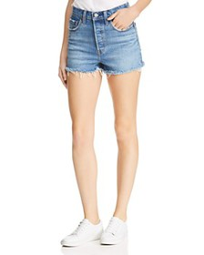 Levi's - Rib Cage Cutoff Denim Shorts in Urban Oas