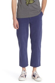 Burberry Solid Ankle Crop Trousers