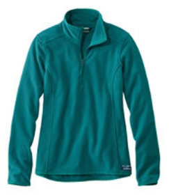 LL Bean Soft-Brushed Fitness Fleece Pullover, Quar