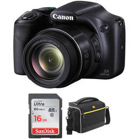 Canon PowerShot SX530 HS Digital Camera with Acces