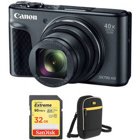 Canon PowerShot SX730 HS Digital Camera with Free