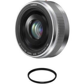Panasonic Lumix G 20mm f/1.7 II ASPH. Lens with Ci