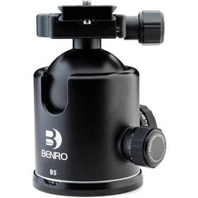 Benro B5 Triple Action Ball Head with PU85 Quick R