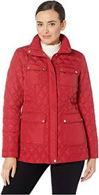 """Vince Camuto 28"""" Quilted Jacket"""