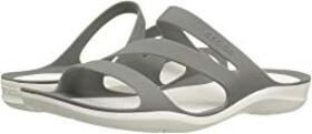 Crocs Crocs - Swiftwater Sandal. Color Smoke/White